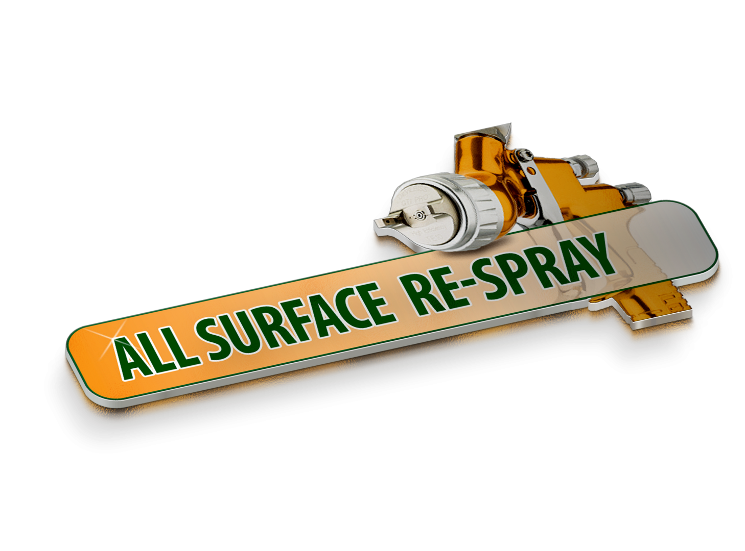 spray - All Surface Respray logo