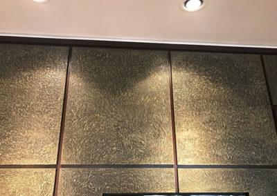 Spray on Metals_Textured panels